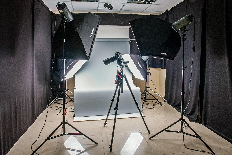 создание студии для предметной фотосъемки открытка встроенным аудиоплеером